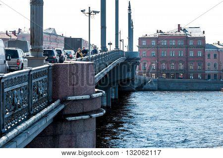 Blagoveshchensky Draw Bridge