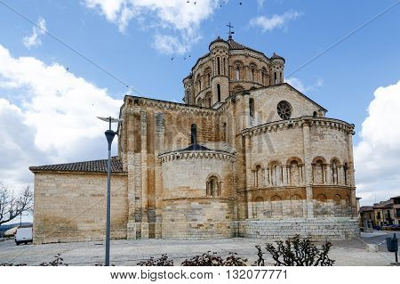 Romanesque Cathedral in the town of Toro Zamora Spain