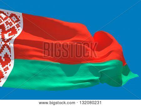 Belarus wave flag HD Republic of Belarus
