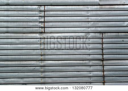 Old zinc plated metal texture obsolete industrial metallic surface