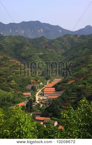 Mountain Village Scenery