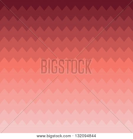 Geometric abstract chevron zigzag stripes pattern. Hipster striped. Wrapping paper. Scrapbook paper. Vector illustration. Background. Graphic texture. Gradient. Red.