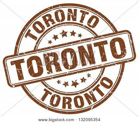 Toronto brown grunge round vintage rubber stamp.Toronto stamp.Toronto round stamp.Toronto grunge stamp.Toronto.Toronto vintage stamp.