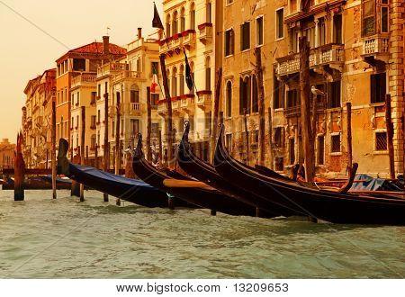 Venice gandolas