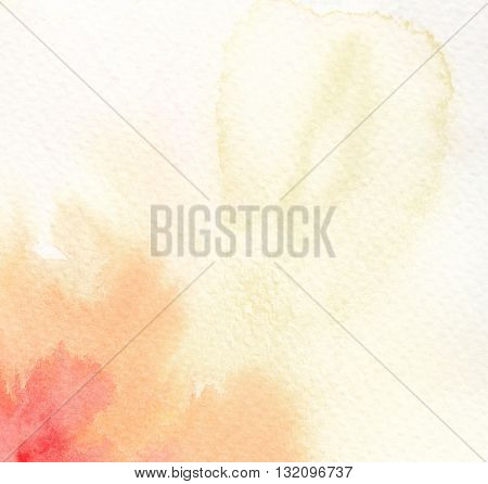 bright high key abstract yellow tones watercolor background
