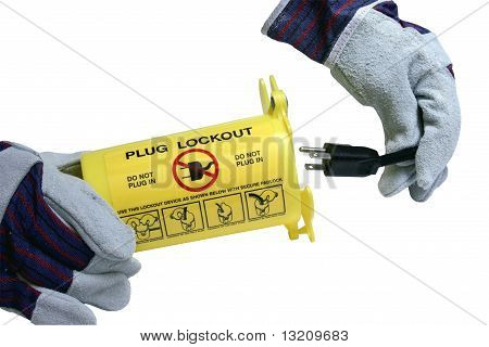 Lockout Container