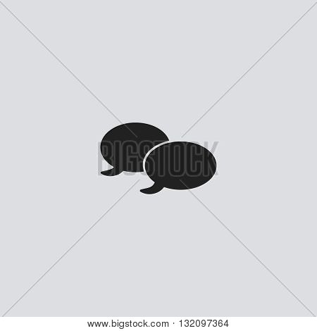 Quote bubble Icon Vector. Quote bubble Icon logo.