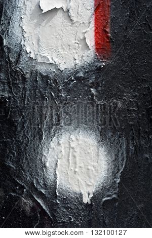 a black and white graffiti detailcloseup background