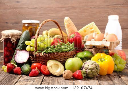 composition with organic food