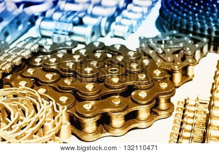 Rolled Chains For Transmission