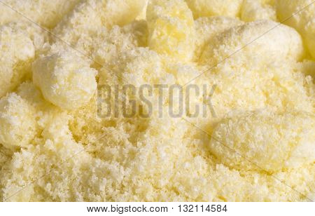 Beautiful and bright background from sweet corn stick