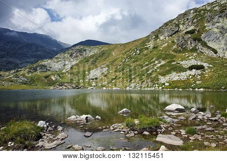 Amazing Landscape of The Trefoil, Rila Mountain, The Seven Rila Lakes, Bulgaria