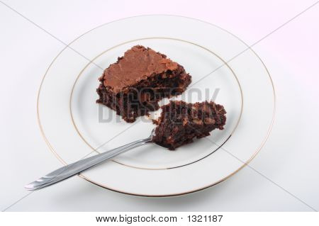 Ready To Eat Brownie Dessert