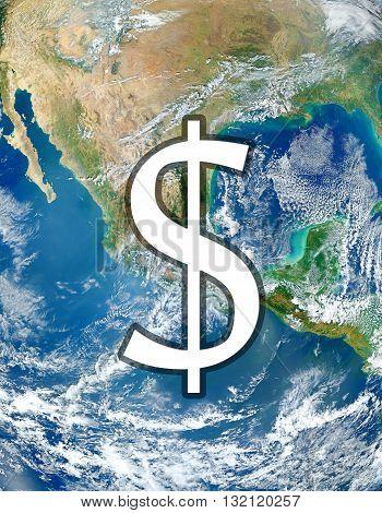 Symbol Of Money Dollar  Nasa