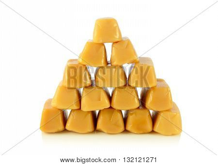 Caramel Toffee Piled Pyramid