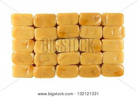 Caramel Toffee Texture