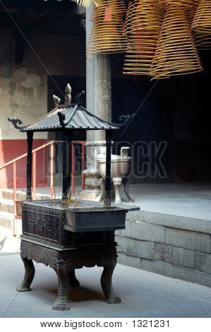 Incense Holder And Incense Coils