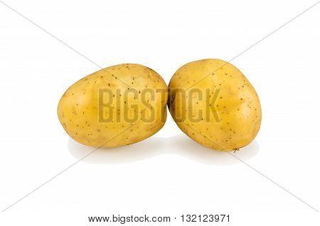 Yellow Potato Tubers