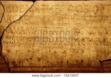 römischen Buchstaben Textur