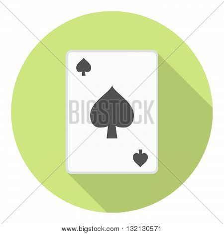 Lesure Games Playing Card Spades Suit Symbol