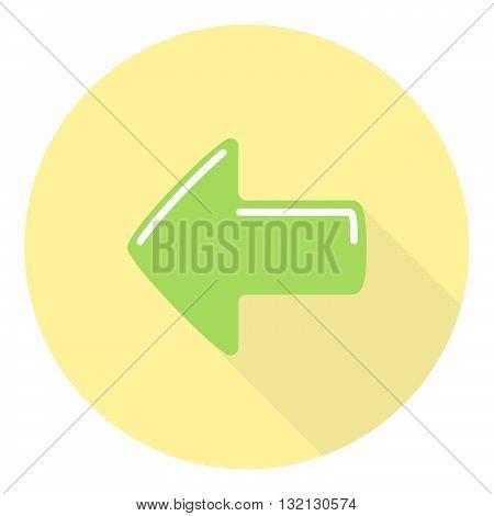 Previous Option Selection Interface Arrow Flat Symbol