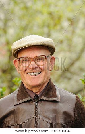 Gerne ältere Menschen man im freien
