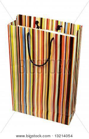 Paperbag listrado colorido