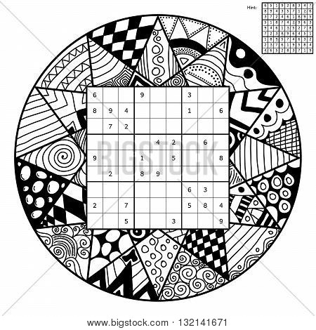 Number Place With Mandala