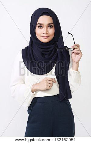 Asian Muslimah Woman Expression
