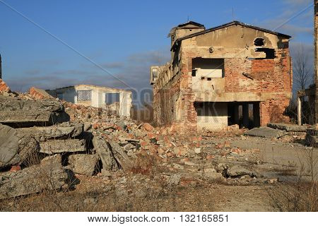 Ruins Of Old Factory