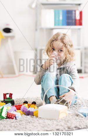 Happy Childhood Despite Disease