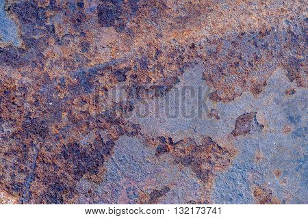 old rusty zinc sheets of zinc background,close up old rusty zinc sheets with vintage style