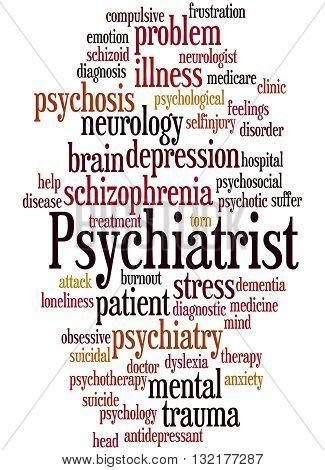 Psychiatrist, Word Cloud Concept