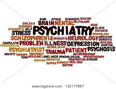 Psychiatry, Word Cloud Concept 3