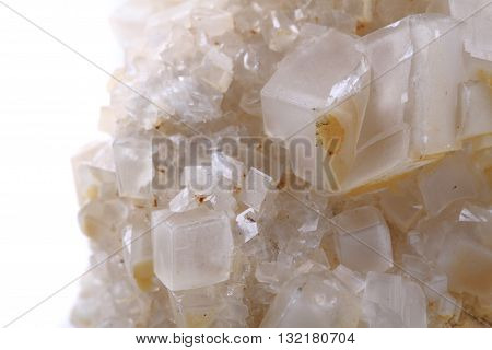 Detail Of Small Calcite Mineral