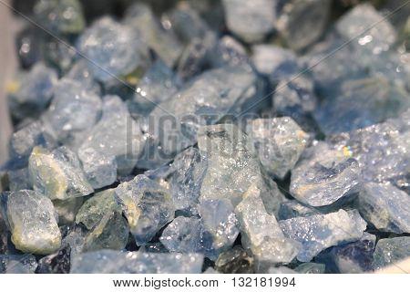 Blue Aquamarine Mineral