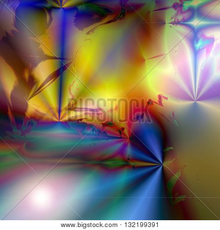 Abstract coloring gold gradients background with visual lens flare  effects