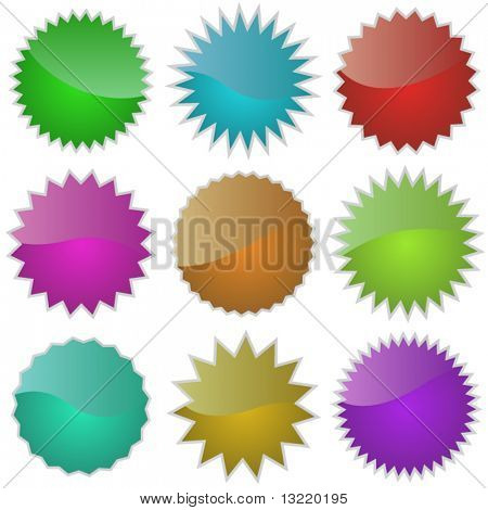 Graphic elements set. Vector illustration