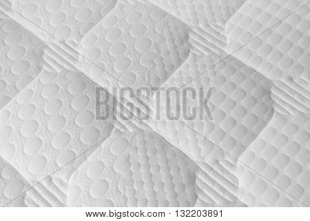 a shot pf Background of soft white mattress