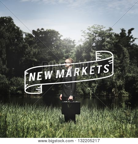 Market Business Commercial Consumer Niche Concept