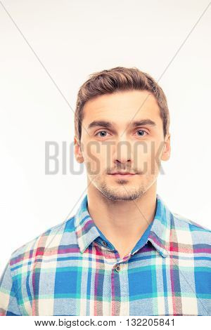 Portrait Of A Cute Handsome Young Man