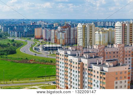 View Of The Residential District