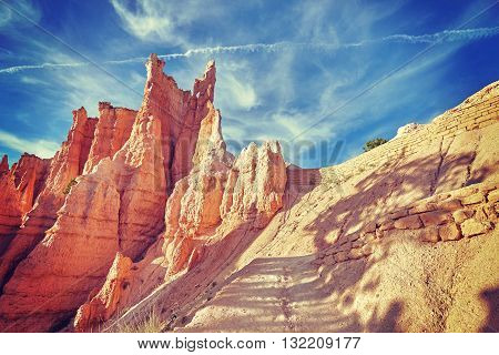 Hoodoos In Bryce Canyon National Park, Usa