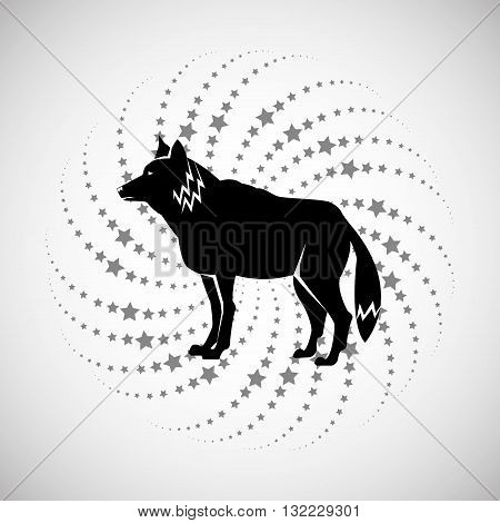 Animal concept with icon design, vector illustration 10 eps graphic.