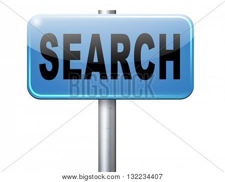 Search button searching information online find info on the internet