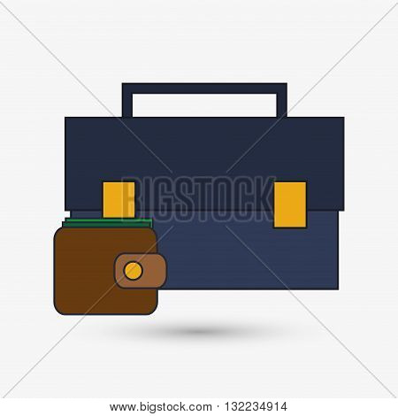 Digital Marketing concept with icon design, vector illustration 10 eps graphic.