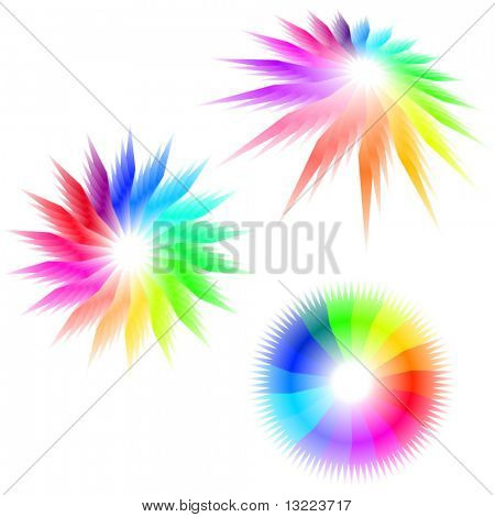 Graphic elements set. Vector illustration.