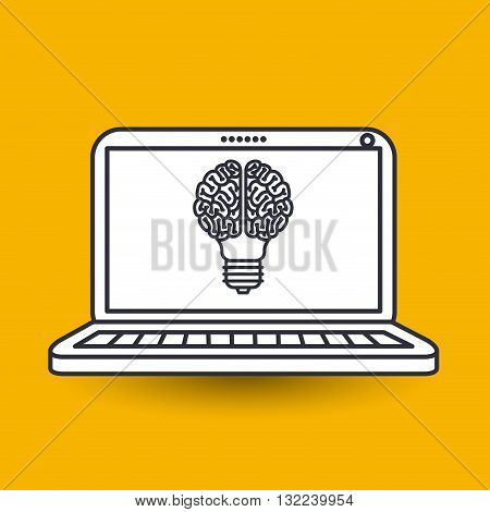 brain storm design, vector illustration eps10 graphic