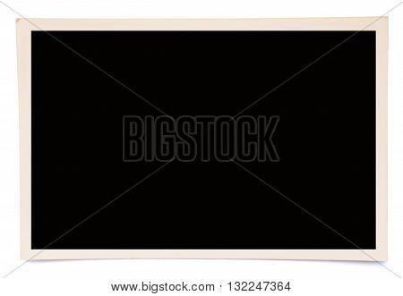 Photo Frame On White