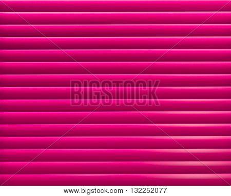 Pink blinder panel background/ backdrop. Horizontal pattern.